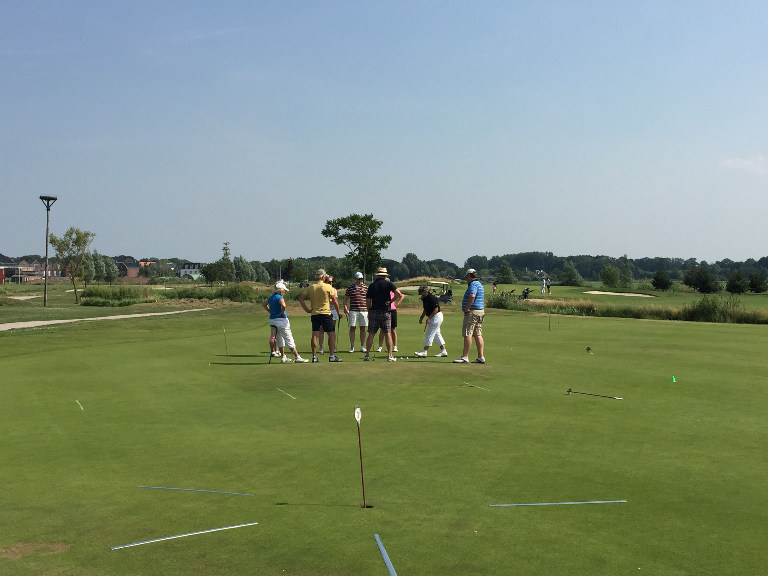 Clinic impressie @ Old Course Loenen onder leiding van Mette Hageman Golf Academy